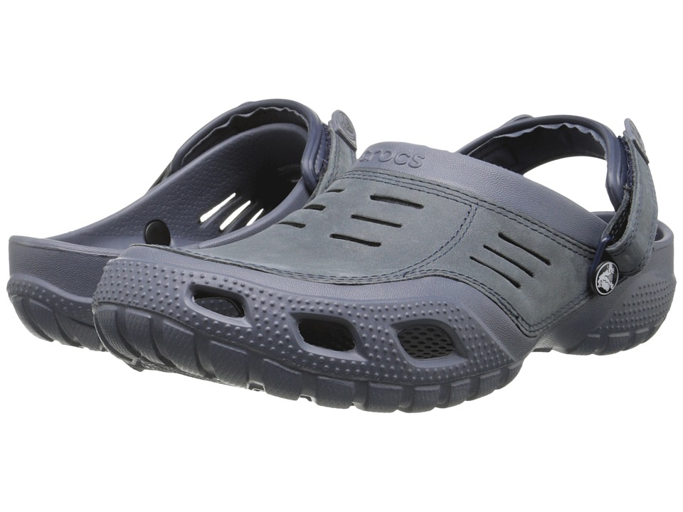 Crocs - Yukon Sport (Storm/Navy) Men's Shoes