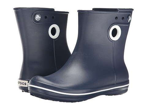 Crocs - Jaunt Shorty Boot (Navy) Women's Boots