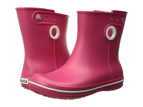 Crocs - Jaunt Shorty Boot (Raspberry) Women