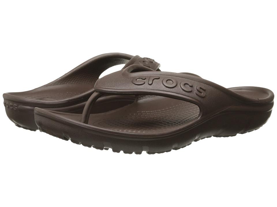 Crocs - Hilo Flip (Mohogany) Sandals