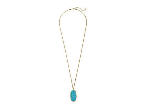 Kendra Scott - Rae Necklace (Gold Turquoise) Necklace