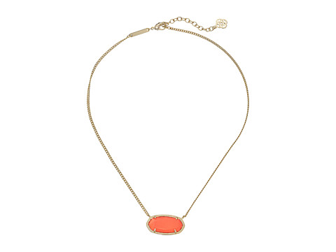 Kendra Scott - Dylan Necklace (Gold Coral) Necklace