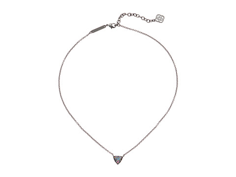Kendra Scott - Perry Necklace (Gunmetal Multi Drusy) Necklace