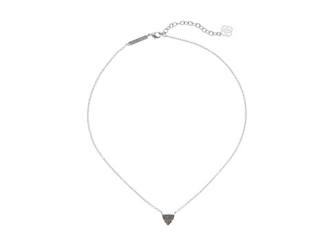 Kendra Scott - Perry Necklace (Rhodium Platinum Drusy) Necklace