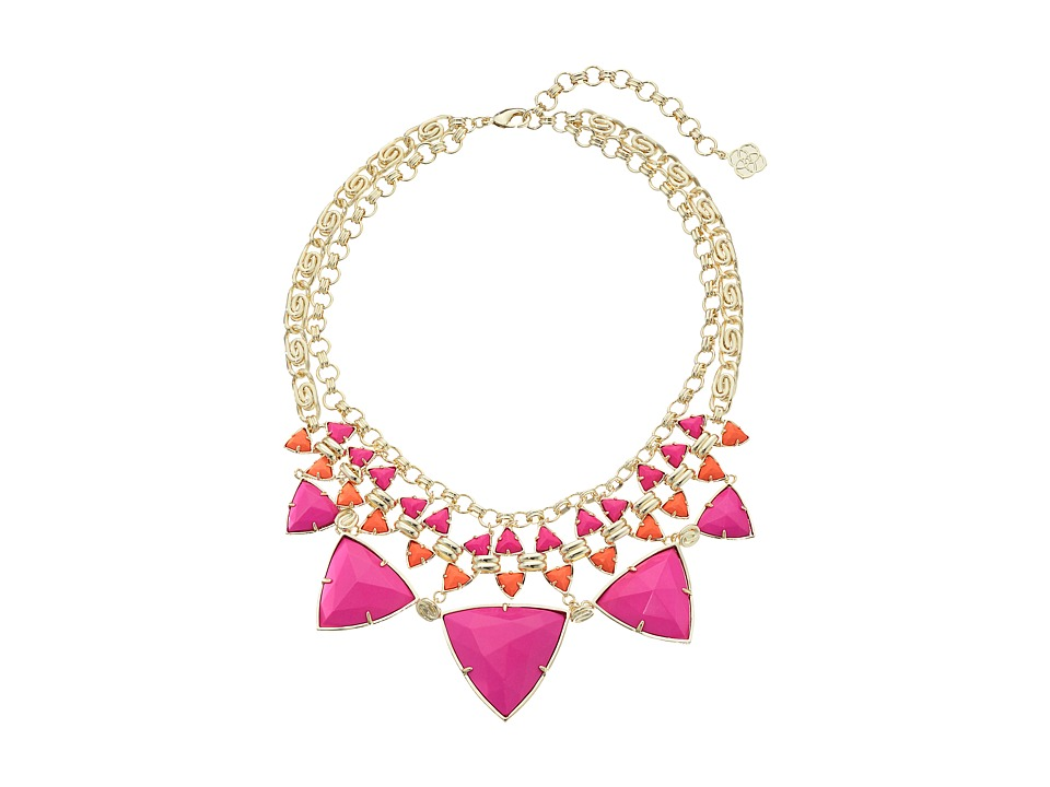 Kendra Scott - Emily Necklace (Gold Hibiscus) Necklace