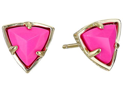 Kendra Scott - Parker Earrings (Gold Magenta) Earring