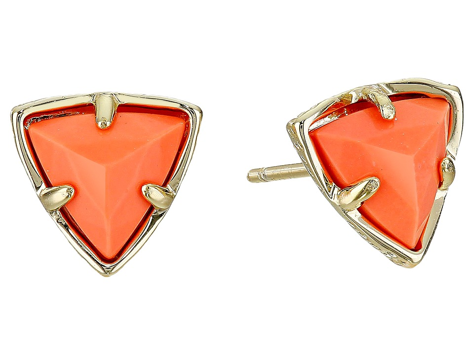 Kendra Scott - Parker Earrings (Gold Coral) Earring