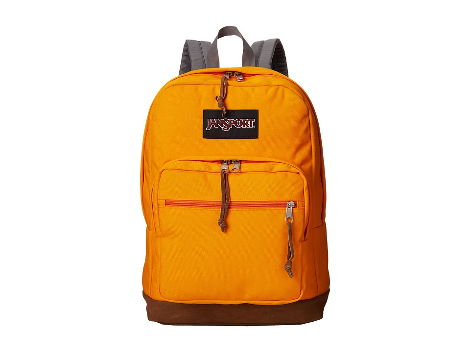 JanSport - Right Pack (Orange Gold) Backpack Bags