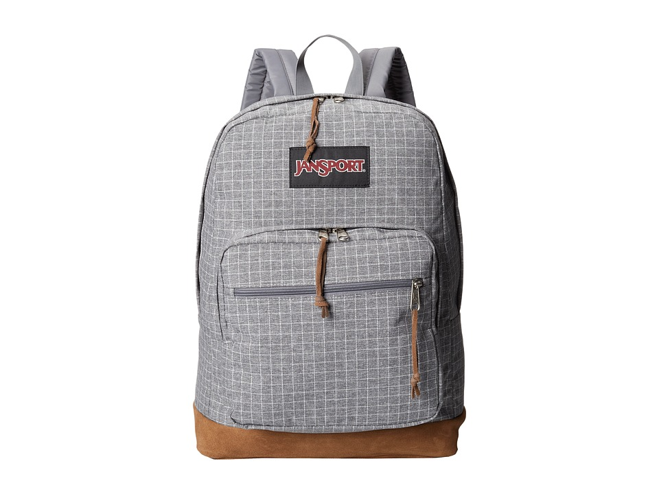 JanSport - Right Pack Expressions (Grey Squared) Backpack Bags