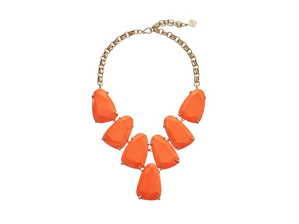 Kendra Scott - Harlow Necklace (Gold Coral) Necklace