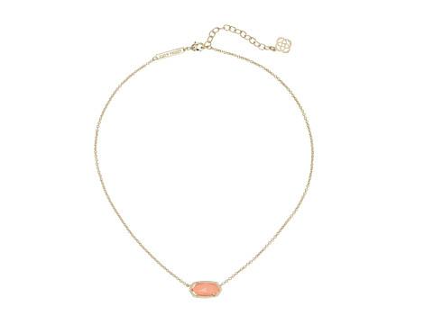 Kendra Scott - Elisa Pendant Necklace (Gold Coral) Necklace