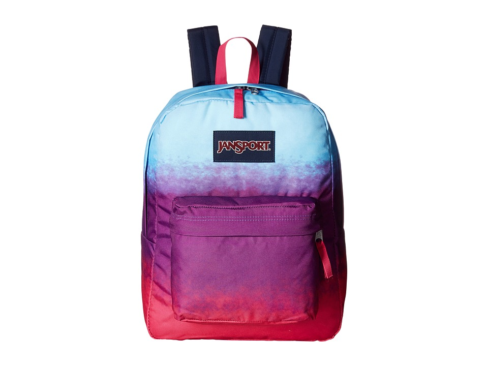 JanSport - SuperBreak (Purple Ombre) Day Pack Bags
