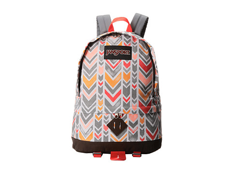 JanSport - Beatnik (Coral Chevrons) Backpack Bags