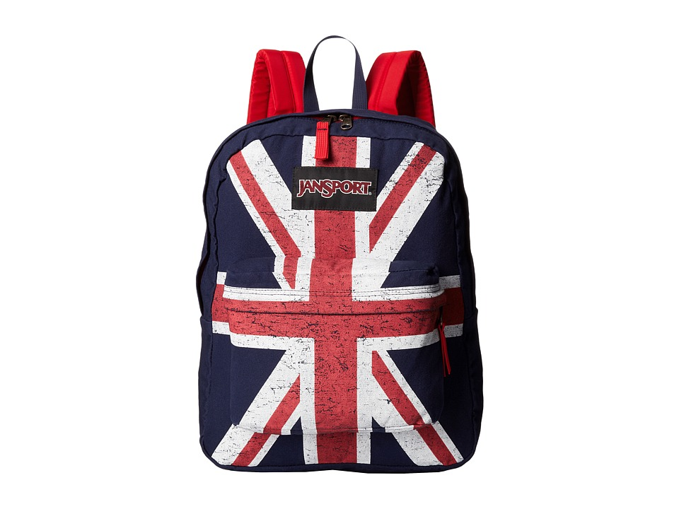 JanSport - Super FX (Navy Unionjack) Backpack Bags