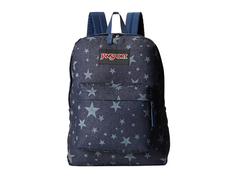 JanSport - Super FX (Denim Laser Stars) Backpack Bags