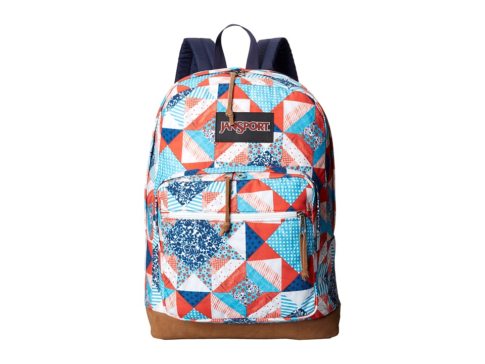 JanSport - Right Pack World (Yankee Doodle) Backpack Bags