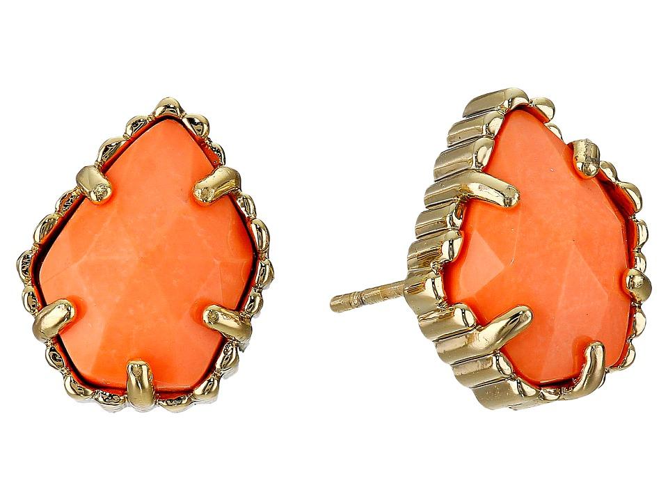 Kendra Scott - Tessa Earring (Gold Coral) Earring