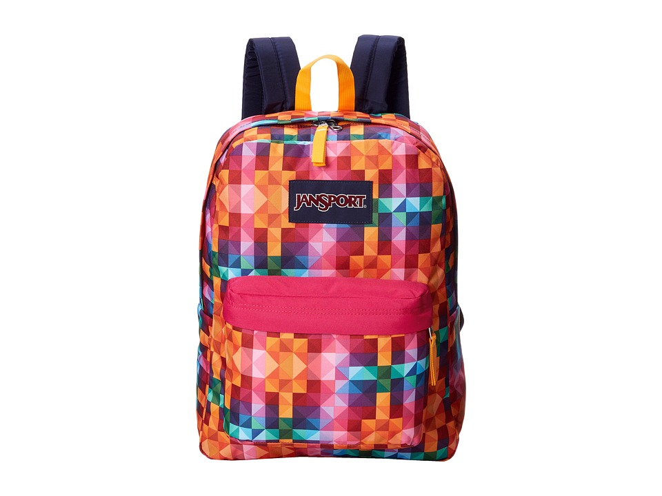 JanSport - Superbreak (Multi Spectrum) Backpack Bags