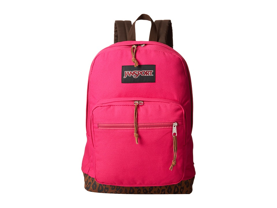 JanSport - Right Pack Expressions (Cyper Pink Leopard) Backpack Bags