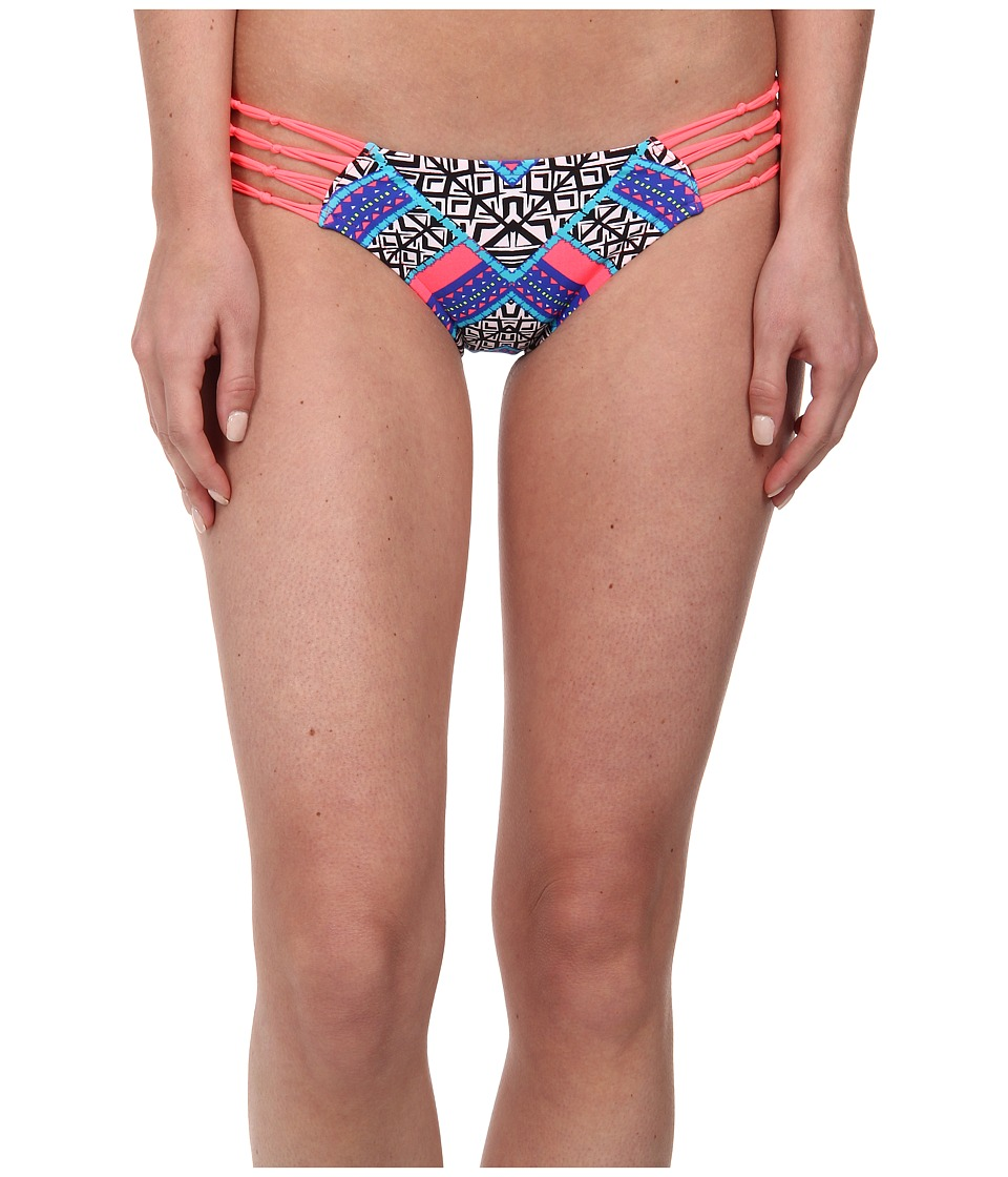 Rip Curl - Gypsy Queen Hipster Bottom (Hot Coral) Women's Swimwear