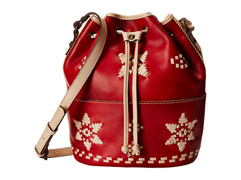 Patricia Nash - Evora Drawstring (Red) Drawstring Handbags