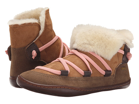 Camper Kids - Peu Cami K900037 (Little Kid) (Medium Brown) Girl's Shoes