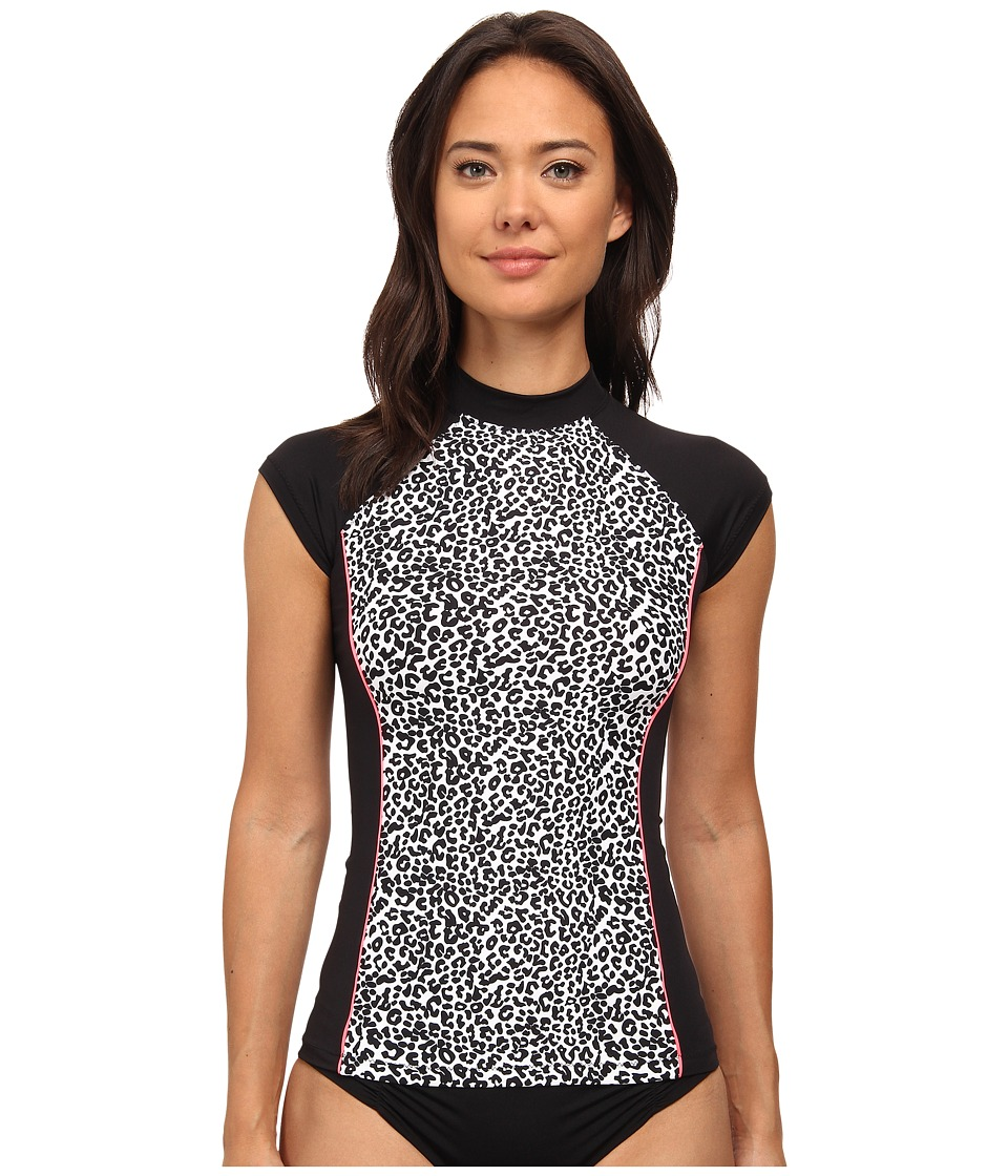 Rip Curl - Tribal Beat Rashguard (Black) Women's Swimwear