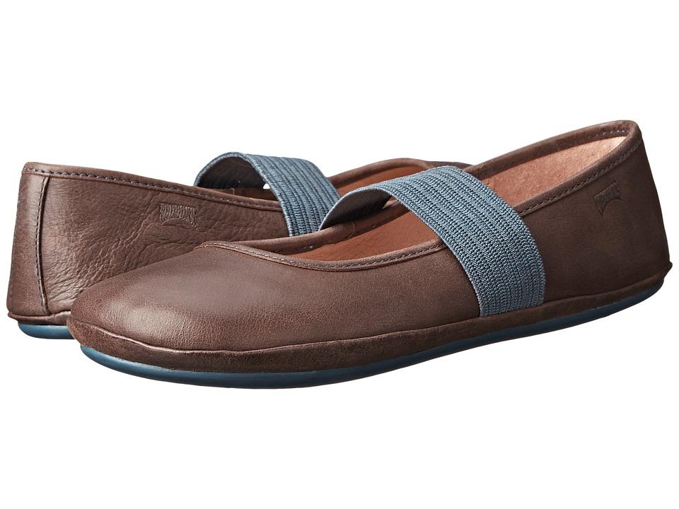 Camper Kids - Right (Little Kid) (Dark Brown) Girls Shoes