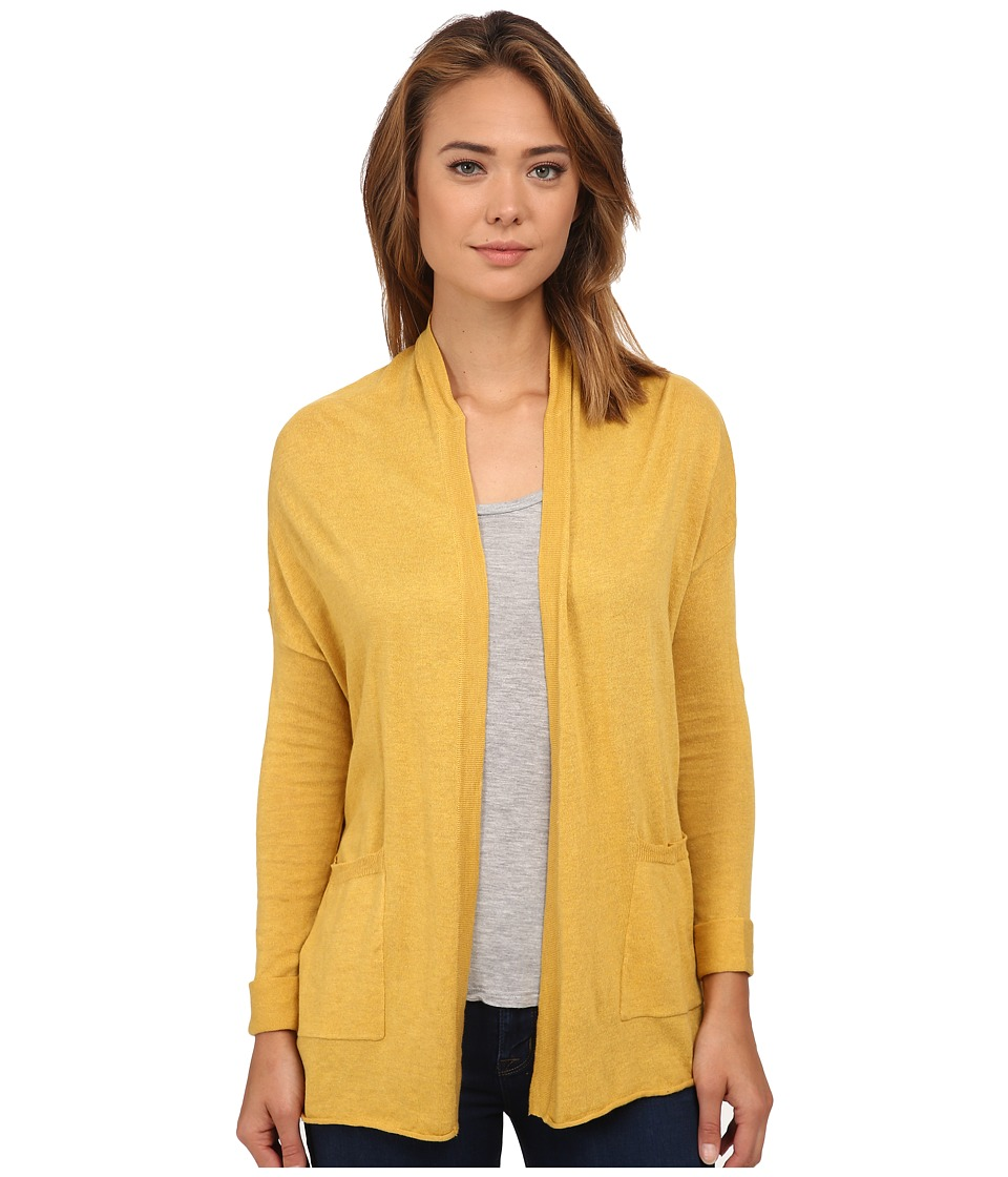Billabong - Outside The Lines Cardigan (Gold Digger) Women