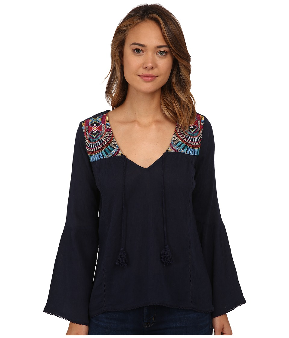 Billabong - Solar Sun Top (Midnight) Women's Blouse