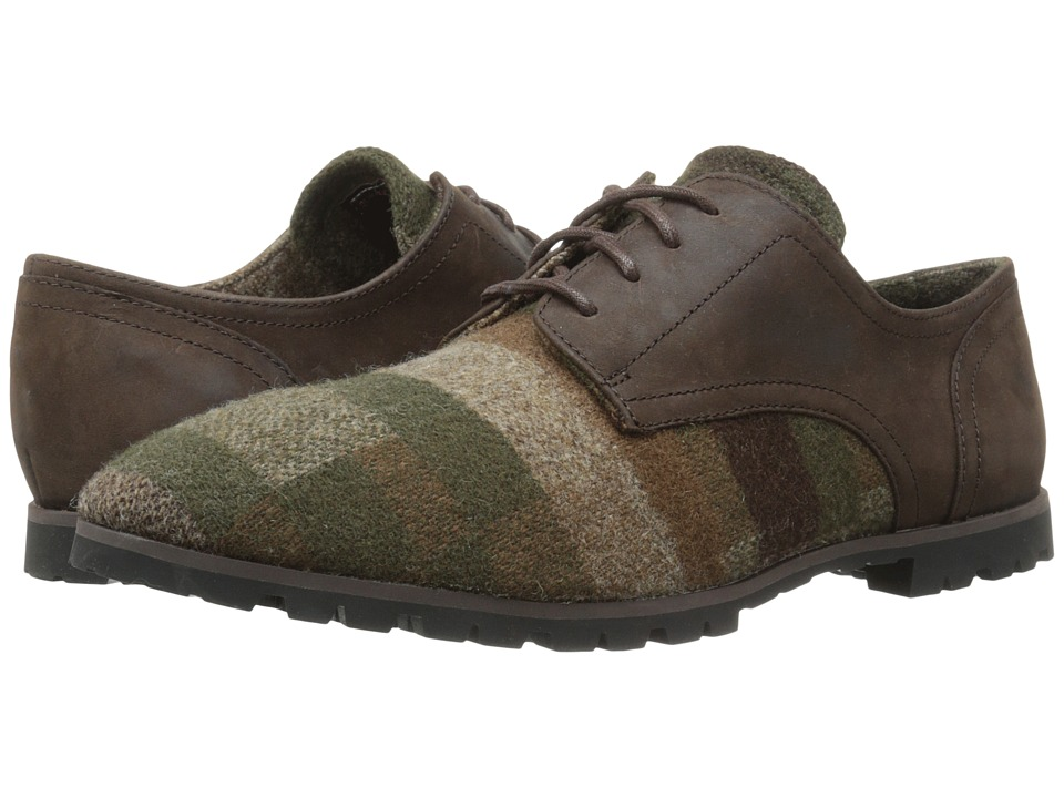 Woolrich - Adams Wool (Camo Wool/Rawhide) Men's Lace up casual Shoes