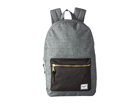 Herschel Supply Co. - Settlement (Charcoal Crosshatch/Black) Backpack Bags