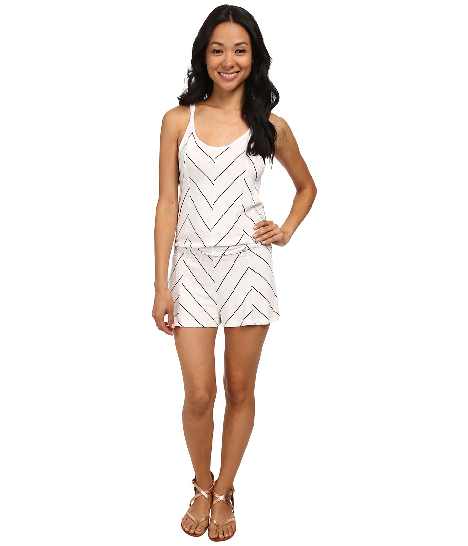 Rip Curl - Borderline Romper (White) Women's Jumpsuit & Rompers One Piece