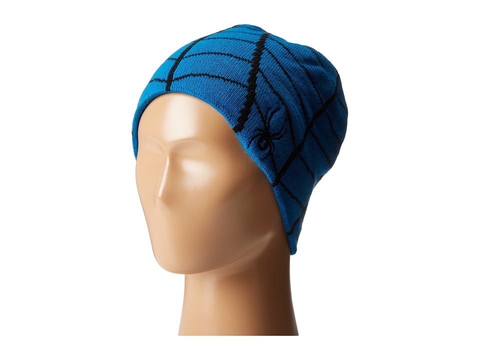 Spyder Kids - Mini Web Hat (Toddler/Little Kids/Big Kids) (Concept Blue/Black) Beanies
