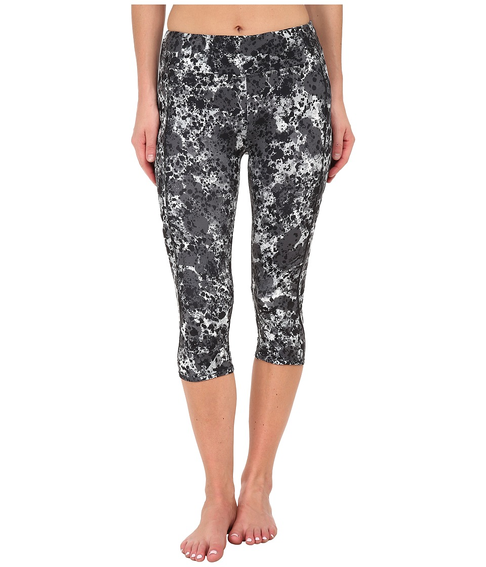 Hurley - Dri-Fit Crop Leggings (Black Z) Women's Workout