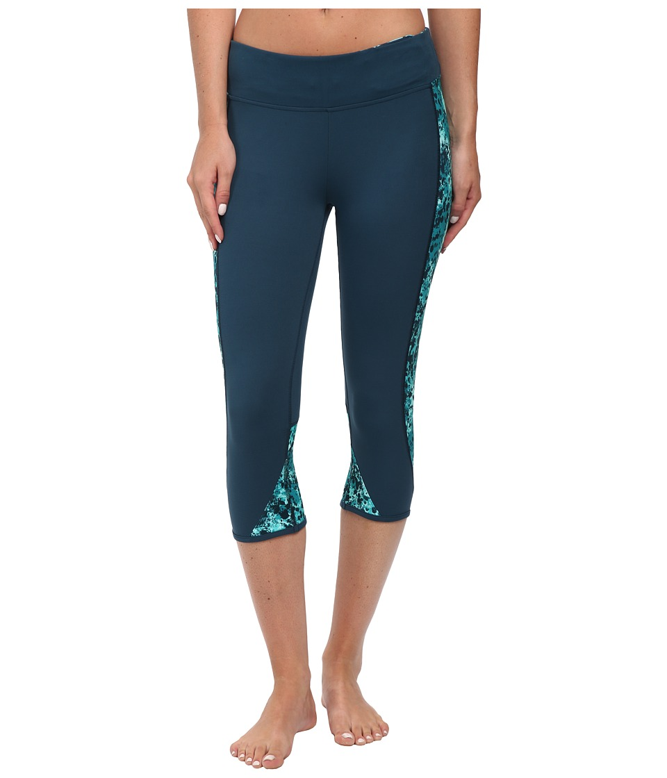 Hurley - Dri-Fit Crop Leggings (Radiant Emerald) Women's Workout