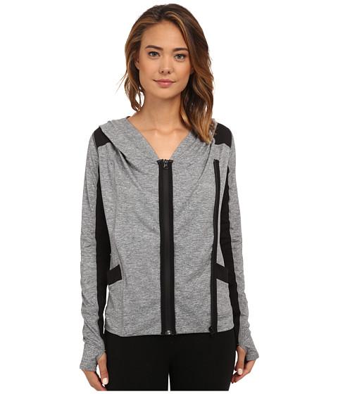 Hurley - Dri-Fit Moto Jacket (Heather Cool Grey) Women's Sweatshirt
