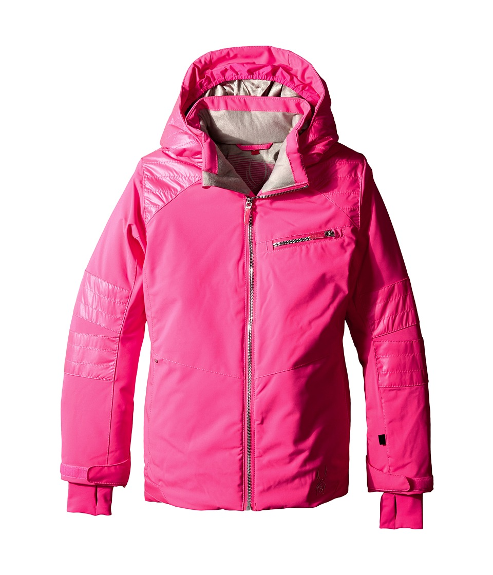 Spyder Kids - Radiant Jacket (Big Kids) (Bryte Bubblegum) Girl's Coat