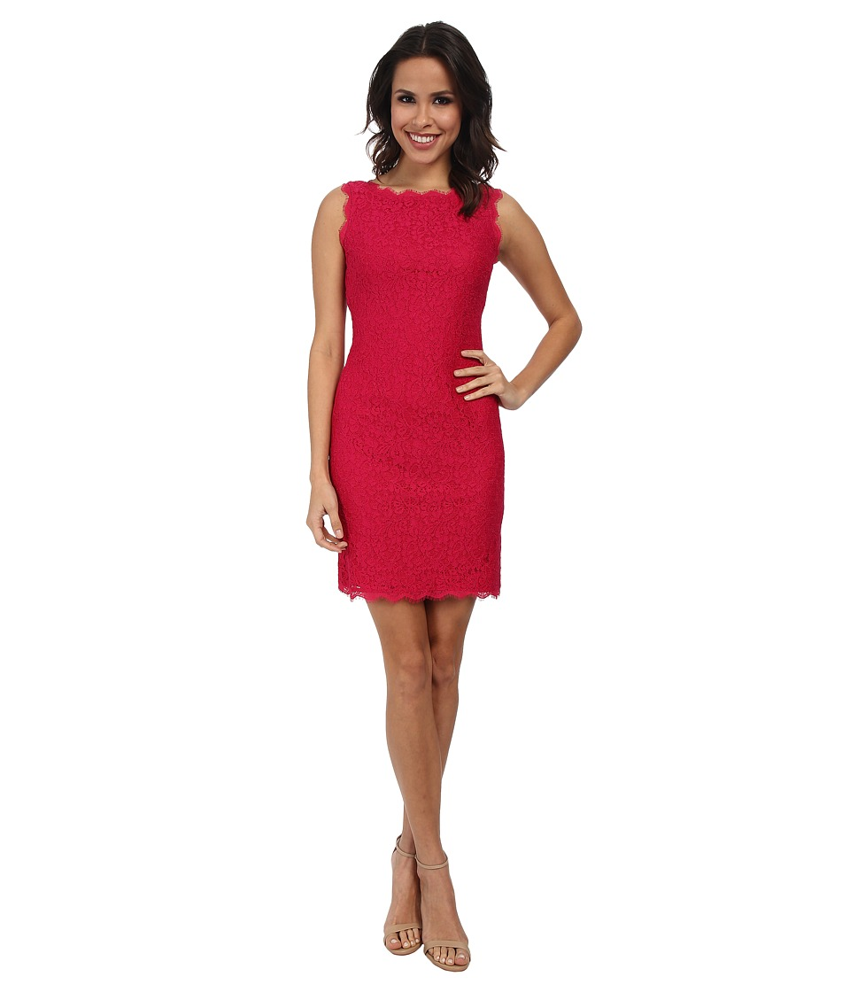 Adrianna Papell - Sleeveless Dress (Lipstick) Women's Dress