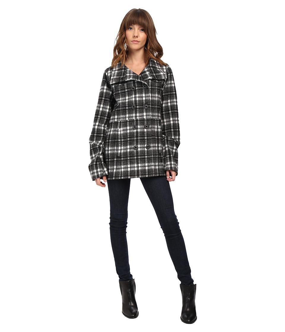 Hurley - Winchester Novelty Jacket (White) Women's Coat