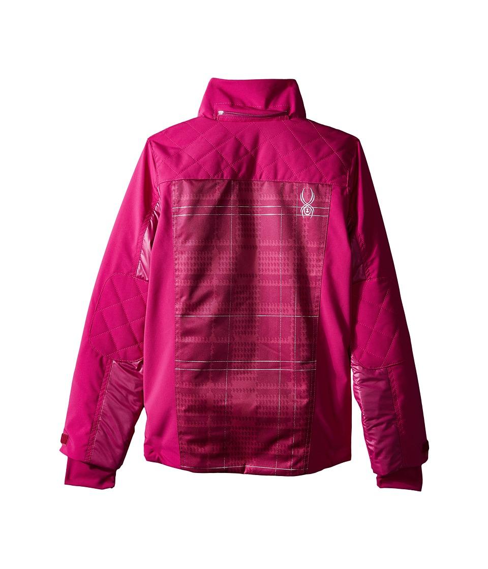 Spyder Kids - Mynx Jacket (Big Kids) (Wild/Wild Check Plaid Print) Girl's Coat