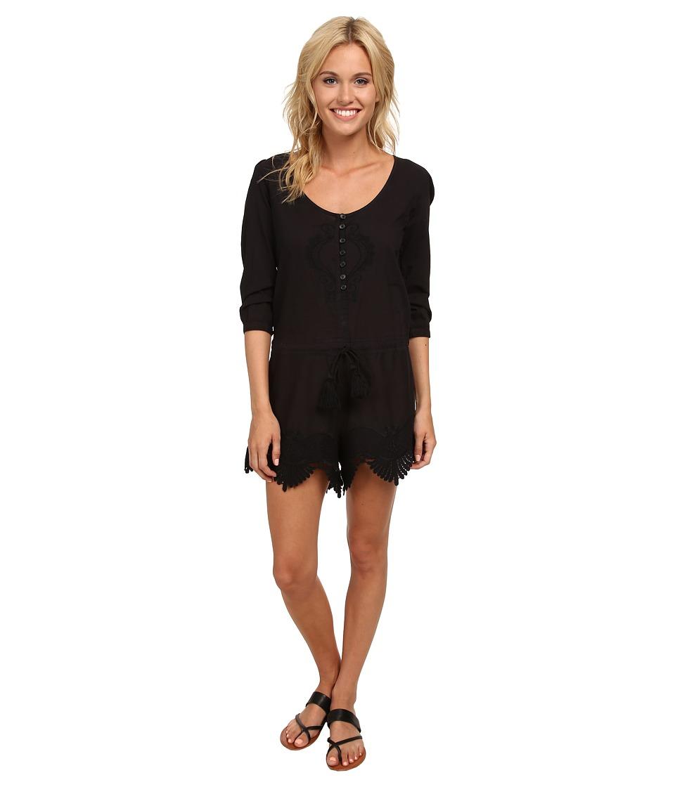 241822320ac7 EAN 9348282266556 product image for Rip Curl - Modern Love Romper (Black) Women s  Jumpsuit ...