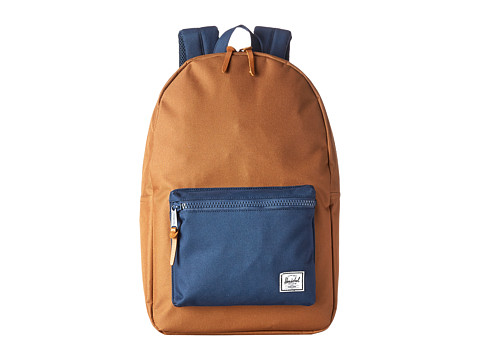 Herschel Supply Co. - Settlement (Caramel/Navy) Backpack Bags