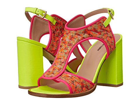 Markus Lupfer - ML142 (Pink Brocade) High Heels