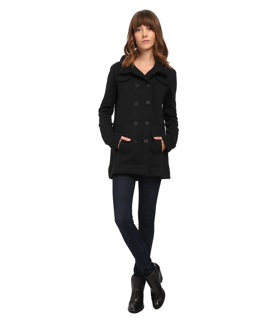 Hurley - Winchester Fleece (Black) Women's Coat