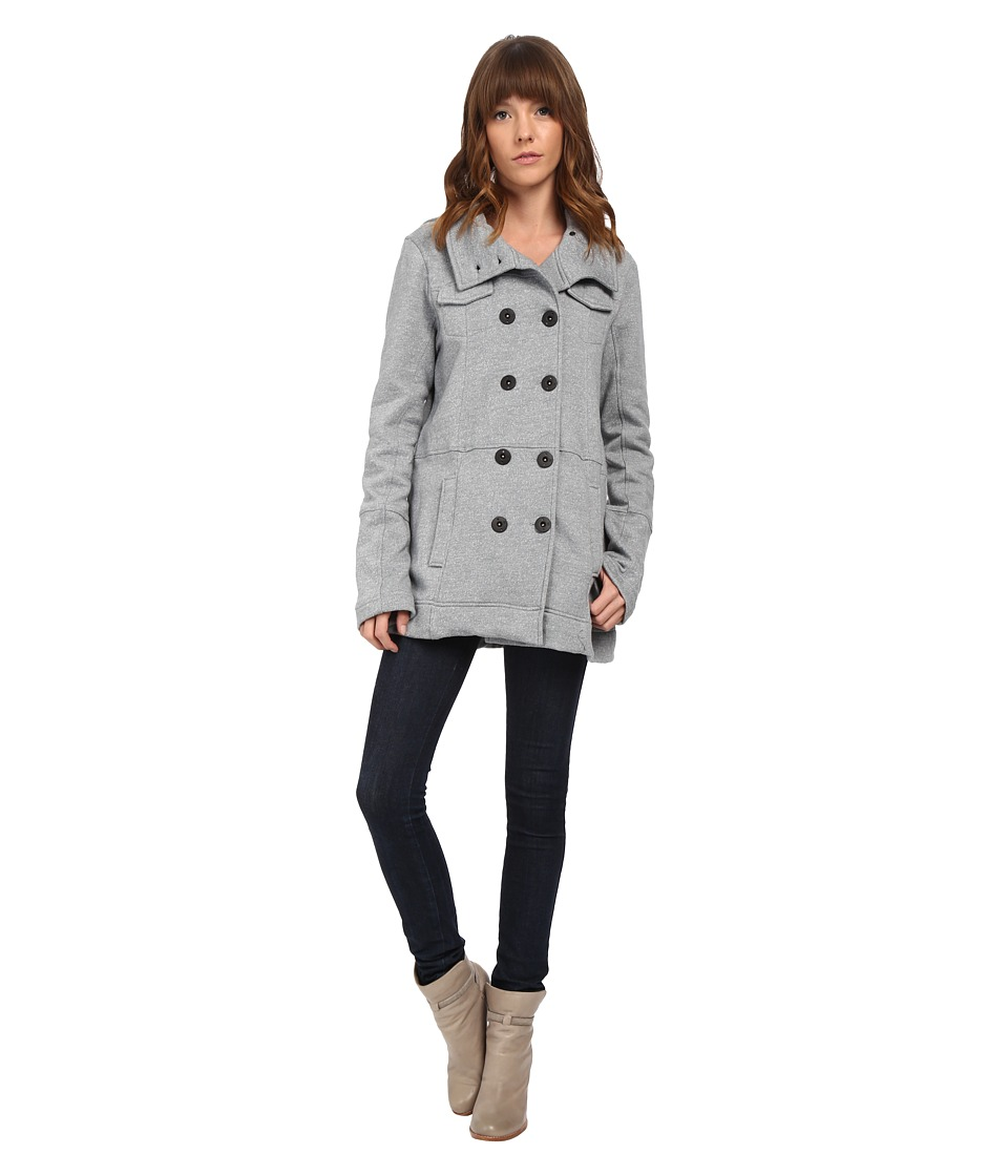 Hurley - Winchester Fleece (Heather Cool Grey) Women's Coat