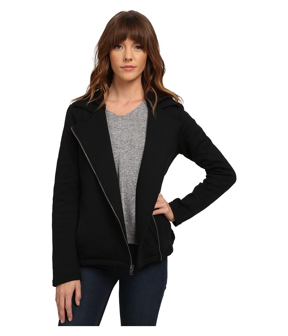 Hurley - Manchester Moto Fleece (Black) Women's Fleece