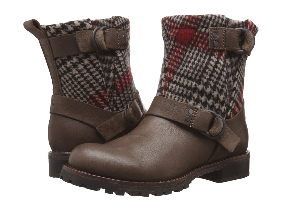 Woolrich Baltimore (Spray/Red Plaid Wool) Women