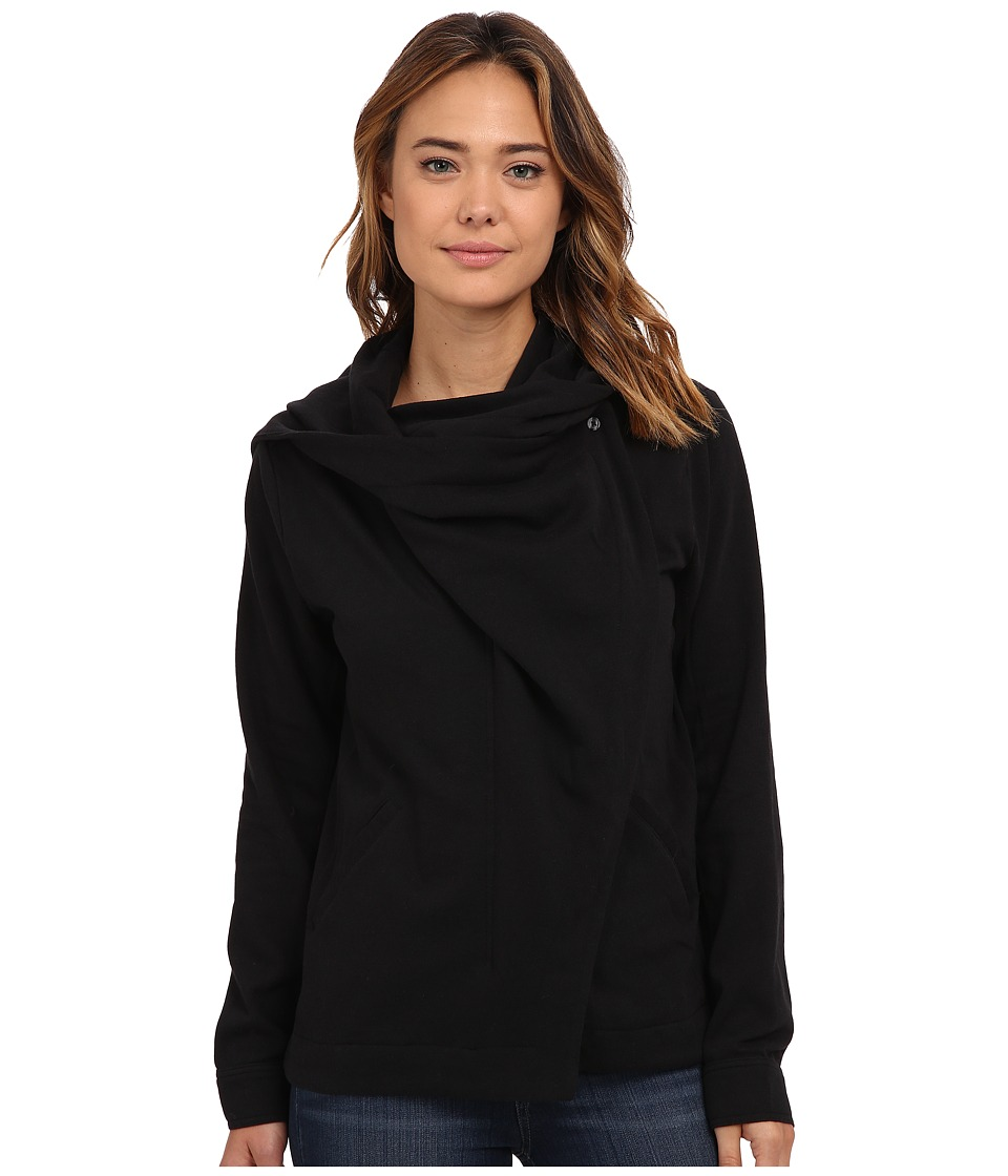 Hurley - Rumble Fleece Jacket (Black) Women's Coat