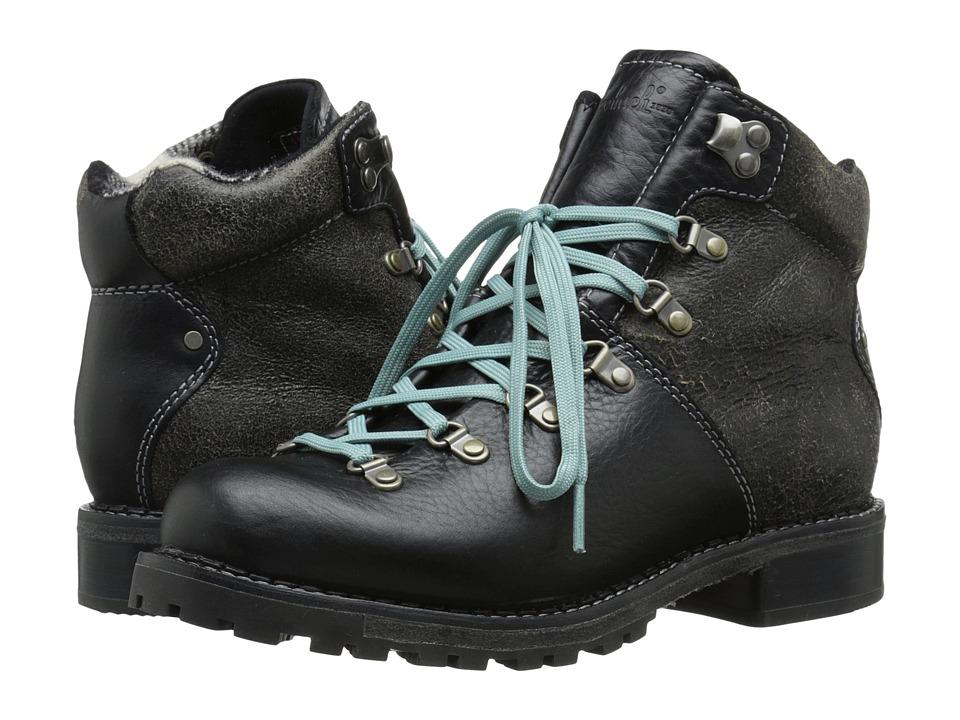 Woolrich Rockies (Black Crackle Leather) Women